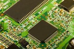 Primo piano del circuito elettronico Immagine Stock Libera da Diritti