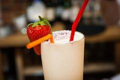 Primo piano del cocktail Fotografie Stock Libere da Diritti