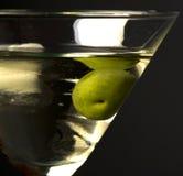 Primo piano del cocktail del Martini Fotografie Stock Libere da Diritti