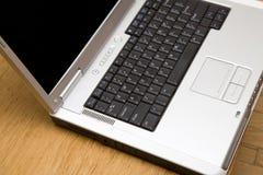 Primo piano del computer portatile Fotografie Stock Libere da Diritti