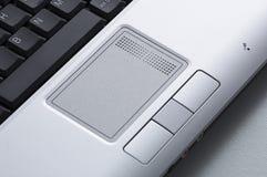 Primo piano del computer portatile Immagine Stock Libera da Diritti