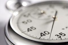 Primo piano del cronometro Immagini Stock