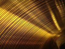 Primo piano del Cymbal Fotografia Stock