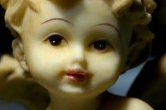 Primo piano del deco di natale, angelo immagine stock
