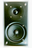 Primo piano del dettaglio del sistema acustico Fotografie Stock