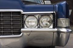 Primo piano del di un'automobile classica Fotografia Stock