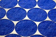 Primo piano del filtro dell'aria domestico Fotografia Stock