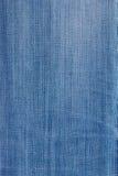 Primo piano del fondo del tessuto del panno del tessuto dei jeans di struttura Immagini Stock