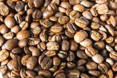 Primo piano del fondo marrone del caffè Fotografia Stock
