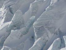 Primo piano del ghiacciaio Immagini Stock Libere da Diritti