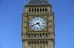 Primo piano del grande Ben - Londra, Englad Immagine Stock Libera da Diritti