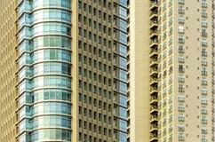 Primo piano del grattacielo Fotografie Stock Libere da Diritti