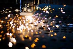 Primo piano del laser Fotografia Stock