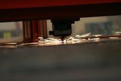 Primo piano del laser Fotografie Stock Libere da Diritti