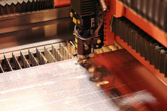 Primo piano del laser Immagine Stock