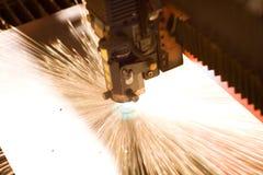 Primo piano del laser Fotografie Stock