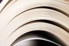 Primo piano del libro fotografia stock libera da diritti