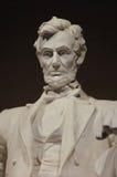 Primo piano del memoriale di Lincoln Immagini Stock Libere da Diritti