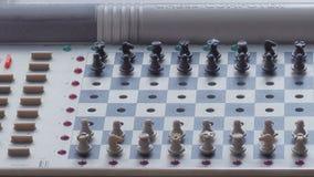 Primo piano del microcomputer di scacchi fotografie stock libere da diritti