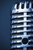 Primo piano del microfono dello studio Fotografia Stock Libera da Diritti