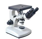 Primo piano del microscopio Fotografia Stock Libera da Diritti