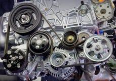 Primo piano del motore Immagine Stock