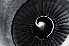 Primo piano del motore a propulsione immagini stock libere da diritti