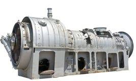 Primo piano del motore a propulsione Fotografie Stock