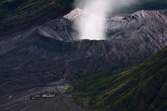 Primo piano del Mt Bromo Fotografie Stock Libere da Diritti