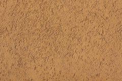 Primo piano del muro di cemento giallo Fotografia Stock