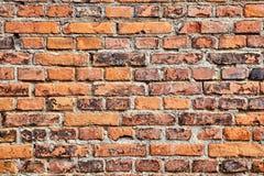 Primo piano del muro di mattoni immagini stock