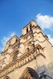 Primo piano del Notre Dame Fotografia Stock Libera da Diritti