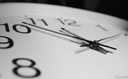 Primo piano del orologio-fronte Immagine Stock