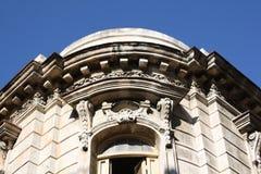 Primo piano del particolare di architettura di vecchia costruzione Immagine Stock Libera da Diritti