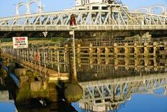 Primo piano del ponte Fotografie Stock Libere da Diritti