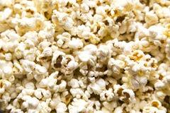 Primo piano del popcorn Fotografie Stock