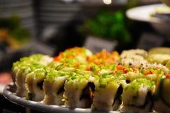 Primo piano del sashimi Immagine Stock