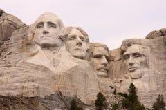 Primo piano del supporto Rushmore, Black Hills, Utah fotografie stock
