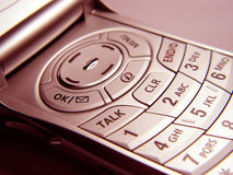 Primo piano del telefono cellulare immagini stock libere da diritti