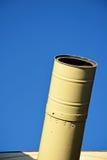 Primo piano del telescopio Fotografia Stock