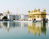 Primo piano del tempiale dorato, Amritsar Immagine Stock Libera da Diritti