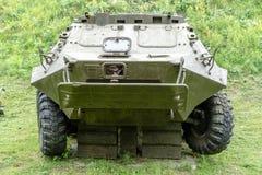 Primo piano del veicolo da combattimento della fanteria immagini stock libere da diritti
