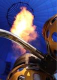Primo piano dell'aerostato di aria calda Fotografia Stock Libera da Diritti