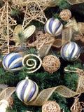 Primo piano dell'albero di Natale fotografia stock libera da diritti