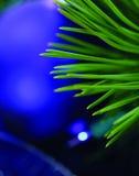 Primo piano dell'albero di Natale Fotografie Stock