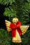 Primo piano dell'angelo sul ramoscello Fotografia Stock Libera da Diritti