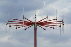Primo piano dell'antenna di DF Immagini Stock