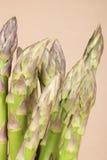 Primo piano dell'asparago Fotografia Stock Libera da Diritti