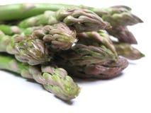 Primo piano dell'asparago Fotografia Stock