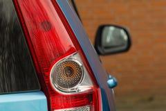 Primo piano dell'automobile della lampadina Fotografia Stock Libera da Diritti